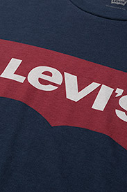 LEVI´S Men - GRAPHIC SETIN NECK GRAPHIC H215 MIDTON - kortermede t-skjorter - blues - 4