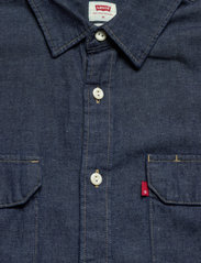 LEVI´S Men - JACKSON WORKER LT WT COTTON HE - checkered shirts - dark indigo - flat finish - 2