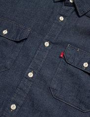 LEVI´S Men - JACKSON WORKER LT WT COTTON HE - checkered shirts - dark indigo - flat finish - 3