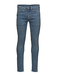519® EXTREME SKINNY FIT - MED INDIGO - WORN IN