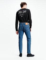LEVI´S Men - 502 TAPER STONEWASH STRETCH T2 - regular jeans - med indigo - flat finish - 3