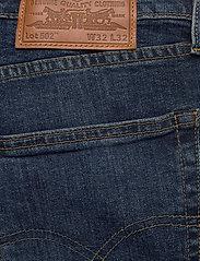 LEVI´S Men - 502 TAPER WAGYU MOSS - slim jeans - dark indigo - worn in - 6