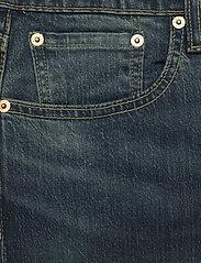 LEVI´S Men - 502 TAPER EAZY SHOCK GREEN - regular jeans - dark indigo - worn in - 2