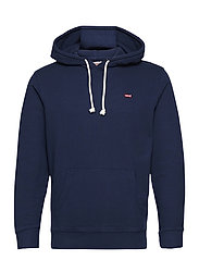 NEW ORIGINAL HOODIE DRESS BLUE - BLUES