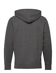 LEVI´S Men - NEW ORIGINAL ZIP UP CHARCOAL H - basic sweatshirts - greys - 2
