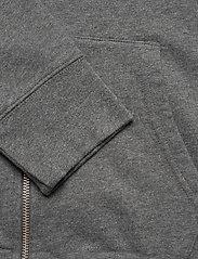 LEVI´S Men - NEW ORIGINAL ZIP UP CHARCOAL H - podstawowe bluzy - greys - 4