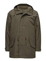 3-IN-1 FISHTAIL  PARKA - OLIVE NIGHT