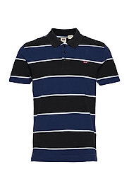 O.G BATWING POLO CLARKIA NAVY - MULTI-COLOR