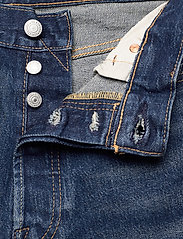 LEVI´S Men - 501 HEMMED SHORT FIRE GOIN SHO - jeansowe szorty - med indigo - flat finish - 3
