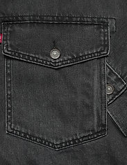 LEVI´S Men - AT WORK TRUCKER SEAN TRUCKER - denim jackets - blacks - 3