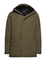THERMORE PADDED PARKA OLIVE NI - GREENS
