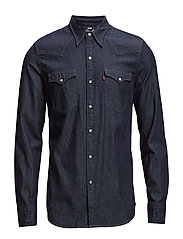 BARSTOW WESTERN RED CAST RINSE - DARK INDIGO - FLAT FINISH