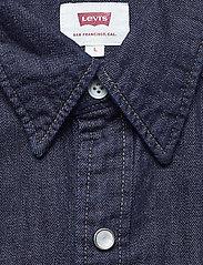 LEVI´S Men - BARSTOW WESTERN RED CAST RINSE - denimowe koszulki - dark indigo - flat finish - 2