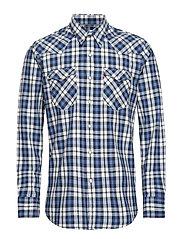 BARSTOW WESTERN BODHRAN DRESS - BLUES