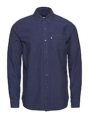SUNSET 1 POCKET SHIRT CONE IND - BLUES