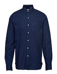 SUNSET 1 POCKET SHIRT FRITSCHE - BLUES
