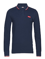 LS MODERN HM POLO LS HM PATCH - BLUES