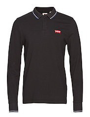 LS MODERN HM POLO LS HM PATCH - BLACKS