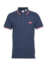 SS MODERN HM POLO HM PATCH DRE - BLUES