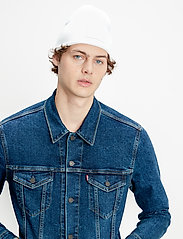 LEVI´S Men - THE TRUCKER JACKET MOON LIT TR - farkkutakit - dark indigo - flat finish - 4