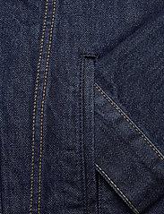 LEVI´S Men - THE TRUCKER JACKET ROCKRIDGE T - vestes en jean - med indigo - worn in - 3
