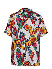 CUBANO SHIRT PARROTS BRILLIANT - MULTI-COLOR