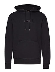 RELAXED GRAPHIC HOODIE SSNL BA - BLACKS