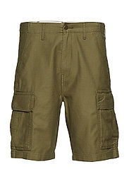 HIBALL CARGO SHORTS BURNT OLIV - GREENS
