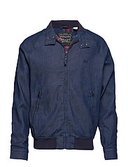 STRETCH BARACUDA JACKET INDIGO - BLUES