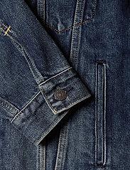 LEVI´S Men - VINTAGE FIT TRUCKER V. ROAMER - denim jackets - dark indigo - worn in - 3