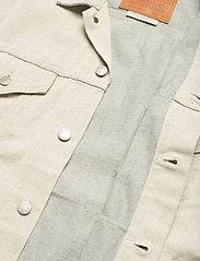 LEVI´S Men - VINTAGE FIT TRUCKER LEFTOVERS - kurtki dżinsowe - greys - 4