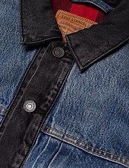 LEVI´S Men - TYPE 2 HYBRID TRUCKER WOODSMAN - vestes en jean - multi-color - 3