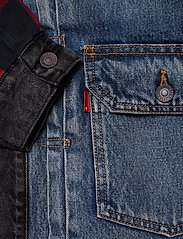 LEVI´S Men - TYPE 2 HYBRID TRUCKER WOODSMAN - vestes en jean - multi-color - 4