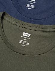 LEVI´S Men - SLIM 2PK CREWNECK 1 2PK SLIM C - t-shirts - multi-color - 2