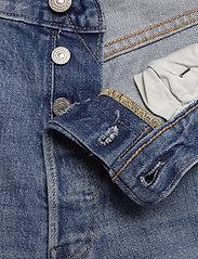 LEVI´S Men - 501 93 SHORTS HAM SHORT - farkkushortsit - light indigo - worn in - 3