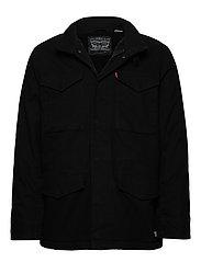 SHERPA FIELD COAT BLACK 05157 - BLACKS