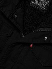 LEVI´S Men - SHERPA FIELD COAT BLACK 05157 - wool coats - blacks - 9