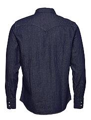 LEVI´S Men - BARSTOW WESTERN STANDARD RED C - koszule w kratkę - blues - 1