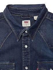 LEVI´S Men - BARSTOW WESTERN STANDARD MODER - koszule w kratkę - blues - 2
