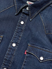 LEVI´S Men - BARSTOW WESTERN STANDARD MODER - koszule w kratkę - blues - 3