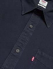 LEVI´S Men - SUNSET 1 PKT SLIM BLACK INDIGO - basic shirts - dark indigo - flat finish - 3