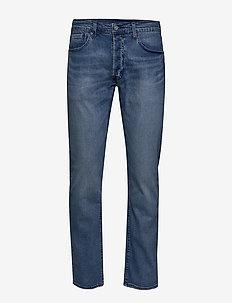 501 LEVISORIGINAL TREASURE ISL - regular jeans - med indigo - flat finish