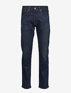 501 LEVISORIGINAL BLOCK CRUSHE - regular jeans - dark indigo - worn in