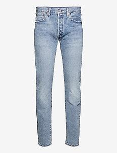 501 LEVISORIGINAL BASIL SAND - regular jeans - med indigo - flat finish