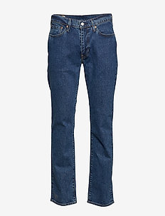514 STRAIGHT STONEWASH STRETCH - regular jeans - med indigo - flat finish