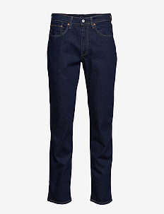 514 STRAIGHT CHAIN RINSE - regular jeans - dark indigo - flat finish