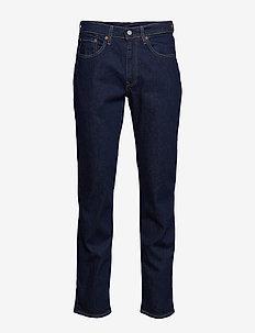 514 STRAIGHT CHAIN RINSE - regular jeans - dark indigo - flat finish