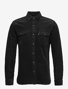 JACKSON WORKER JET BLACK - casual overhemden - blacks
