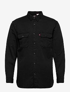 JACKSON WORKER METEORITE - rutiga skjortor - blacks