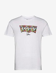 HOUSEMARK GRAPHIC TEE SSNL HM - kortärmade t-shirts - neutrals